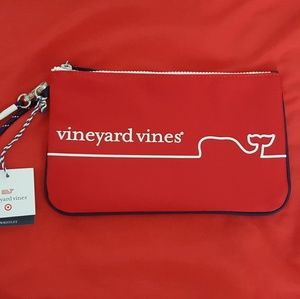 Vineyard Vines Target Red Line Whale Bag